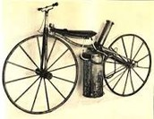 The first motorized bicycle