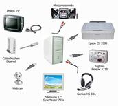 Teclado/ Raton o mouse/ Escaner.