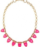 SOLD Eye Candy Necklace Hot Pink