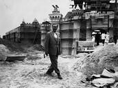 Disney Land under construction