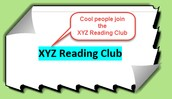 We are XYZ Reading Club