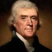 Thomas Jefferson the President at That Time