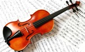 This is a violin because I play the violin and always will