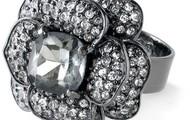 Belle Fleur Ring - Hematite - SOLD