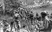 U.S. soldiers on the Mariana Islands
