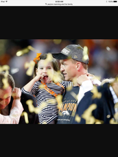 Peyton mannings family
