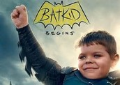 The bat kid named Miles Scott