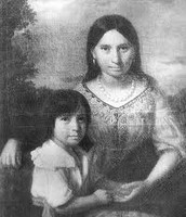Pocahontas and Thomas Rolfe