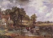 Der Heuwagen by John Constable (1821)