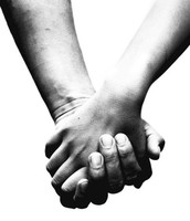 The bringing together of two people who care for each other