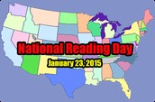 National Reading Day is January 23rd