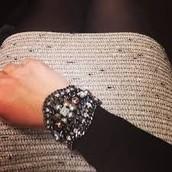 Kahlo cuff statement bracelet