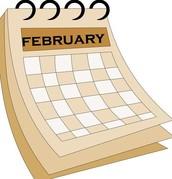 February Calendar Feedback