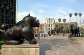 The Botero park