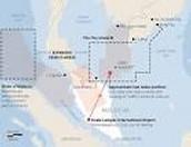 Flight 370 inferred flight plath