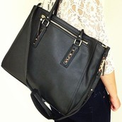 Madison Tech Bag (Black)
