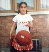 First time playing Basketball