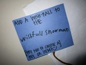 Add your wish-ball!