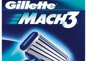 Gillette Mach3: easy to handle and cheap to buy!