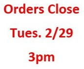 Check your email for an order form