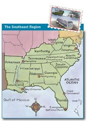 "Social Studies - ""Welcome Aboard!""  We're Taking a Boat and Bus Tour of the Southeast!"