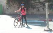 חצייה נכונה עם האופניים.