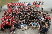 A group photo with all RIC participants