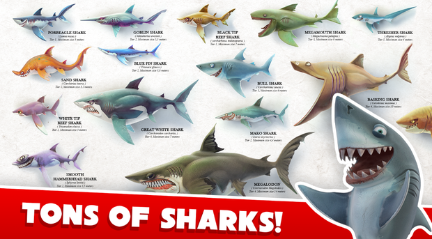 Download hungry shark world mod apk.