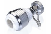 Low flow faucet aerators