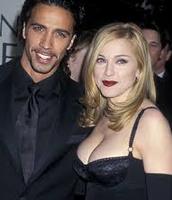 Carlos Leon and Madonna Ciccone