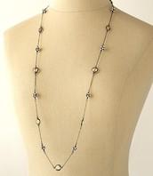 Chelsea Hematite Necklace