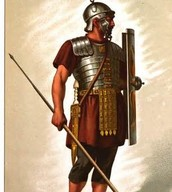 Here is what a Roman soldier would have worn.
