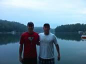 Enjoying Lake Summit