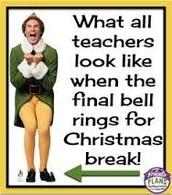 Christmas Break is right around the corner!