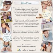 A little bit about Chloe and Isabel...