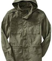 Our signature green army jacket