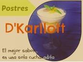 """""""Postres D'Karllott"""""""