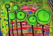 Hundertwasser's artwork