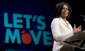 """Real World Example: Michelle Obama's """"Let's Move!"""" Campaign"""