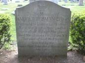 Harriet Tubman tombstone