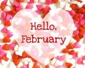 Mark Your Calendar - February