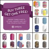 Buy 3 Get 1 Free!