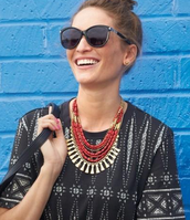 Bliss Statement Necklace - $60