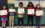 R-TIme Award Recipients for the 3rd 9 weeks!