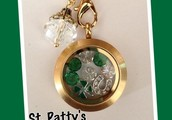 "St. Patrick's Day Is the Perfect Time for A ""Luck of the Irish Living Locket!"""