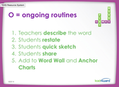 Ongoing Routines Help Vocabulary Comprehension