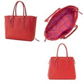 Madison Teck Bag - Poppy was $158 now $79