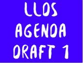 LLDS Agenda Draft 1