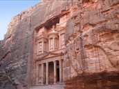 Ancient rock-cut city called Petra