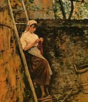 Ragazza di campagna, Lega, 1885